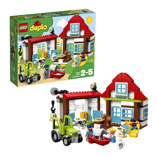 Конструктор LEGO Duplo Лего Дупло Town День на ферме