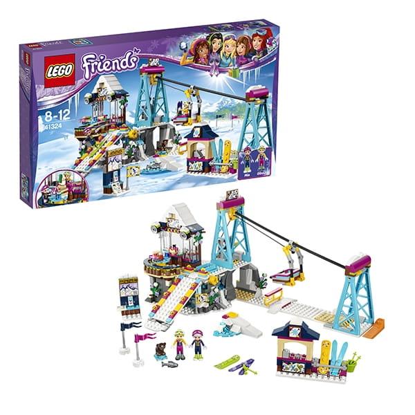 Конструктор LEGO Friends Лего Подружки Горнолыжный курорт - подъемник