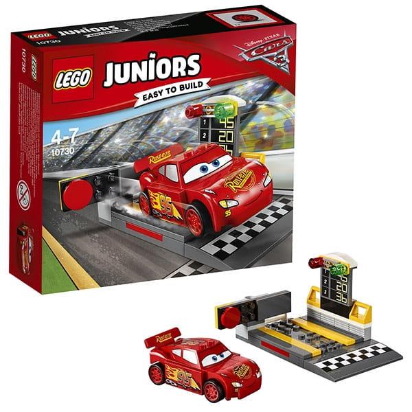Конструктор Lego JUNIORS Лего Джуниорс Устройство для запуска Молнии МакКуина