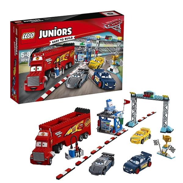 Конструктор LEGO Juniors Лего Джуниорс Финальная гонка Флорида 500