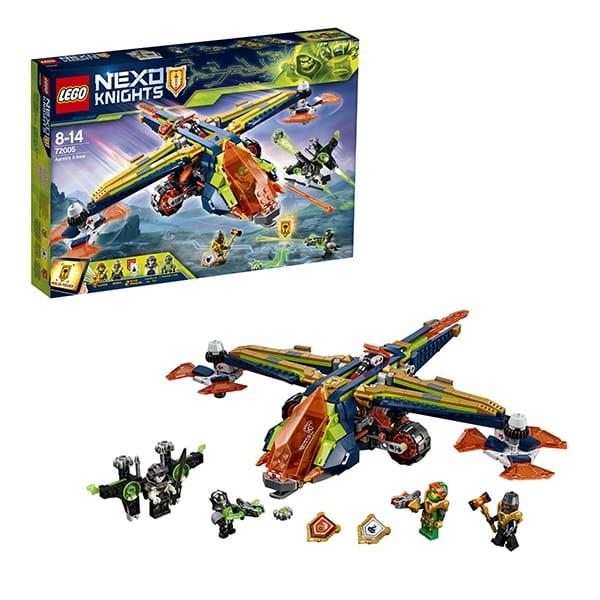 Конструктор LEGO Nexo Knights Лего Нексо Аэро-арбалет Аарона 2
