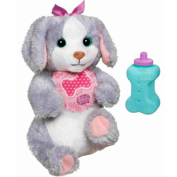 Купить Игровой набор FurReal Friends Новорожденная собачка (Hasbro) в интернет магазине игрушек и детских товаров
