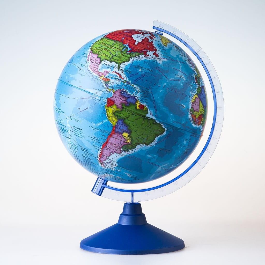 Глобус Земли GLOBEN политический - 21 см (с подсветкой)