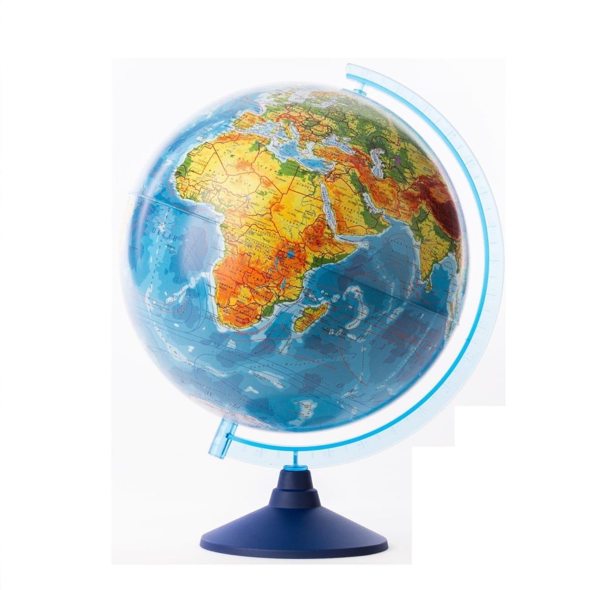 Глобус Земли GLOBEN физико-политический - 32 см (с подсветкой)