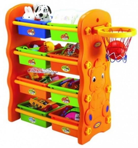 Купить Игровой шкафчик для игрушек Edu-Play Мишка в интернет магазине игрушек и детских товаров