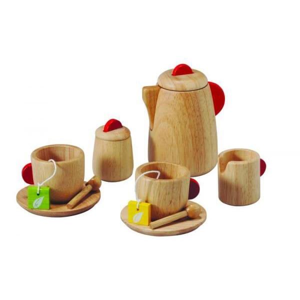 Деревянный игровой набор PLAN TOYS Чаепитие - Все для юной хозяйки