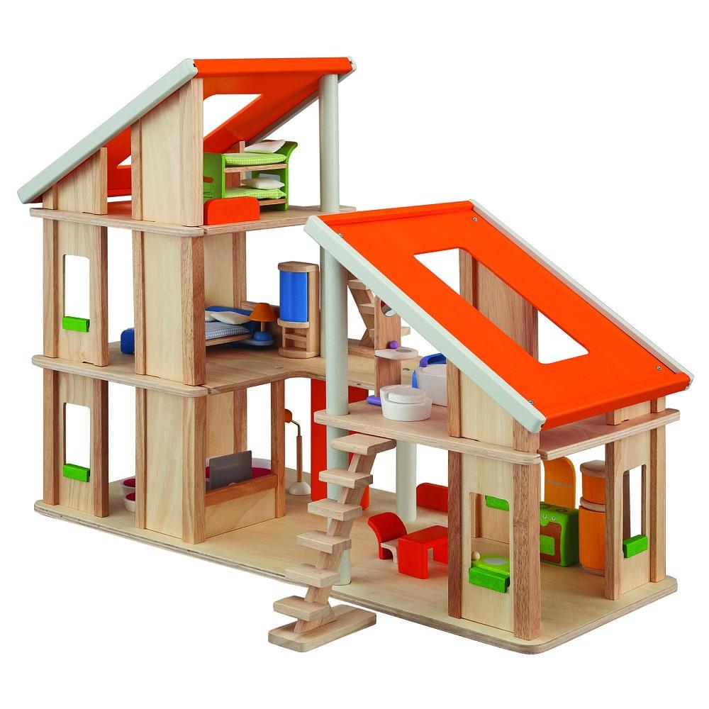 Кукольный домик PLAN TOYS Шале (с мебелью) 2