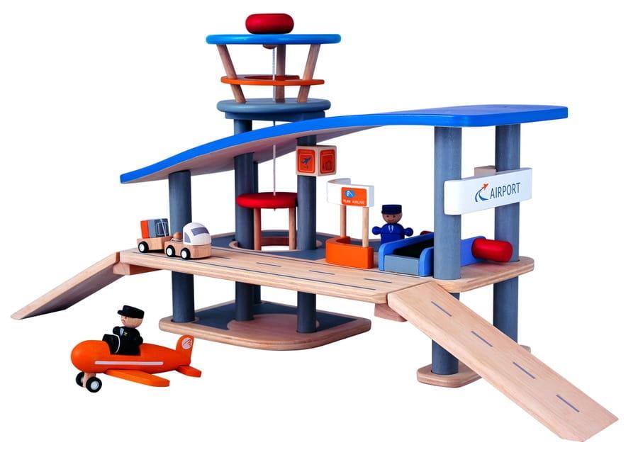 Игровой набор PLAN TOYS Аэропорт - Игровые наборы для мальчиков