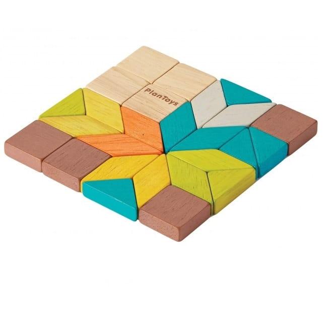 Настольная игра PLAN TOYS Мозаика - Развивающие игры