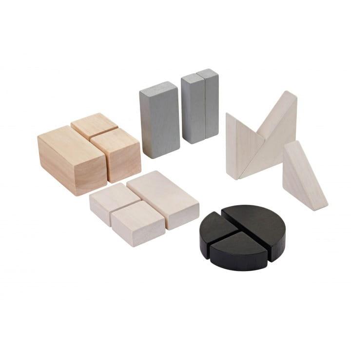 Обучающий набор PLAN TOYS Блоки - Геометрия