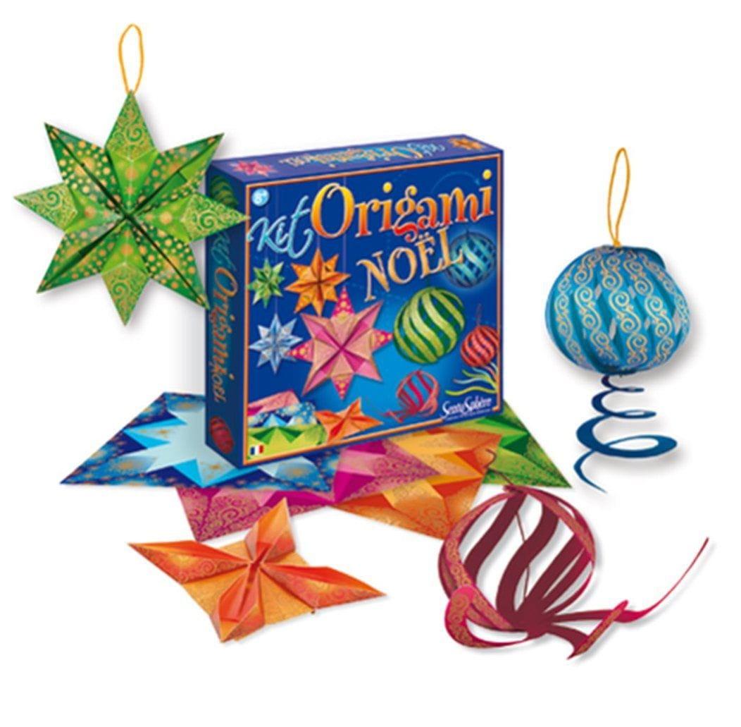 Набор для творчества SENTOSPHERE Оригами  Новый год - Наборы для творчества