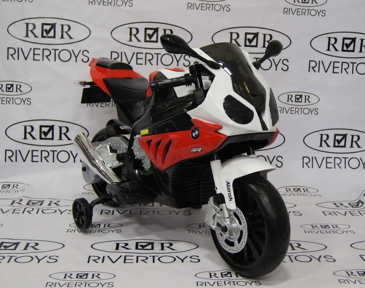 Детский электромотоцикл River Toys BMW JT528