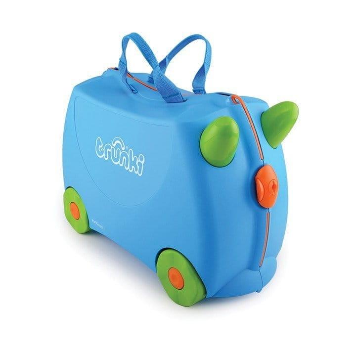 Детский чемоданчик TRUNKI Голубой