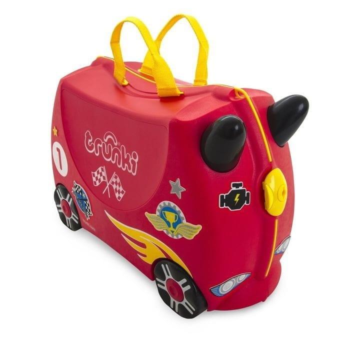 Детский чемоданчик TRUNKI Гоночная машинка Рокко