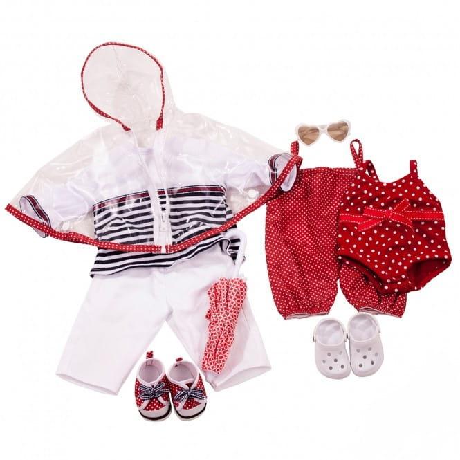 Набор одежды для кукол GOTZ в морском стиле (42-46 см)