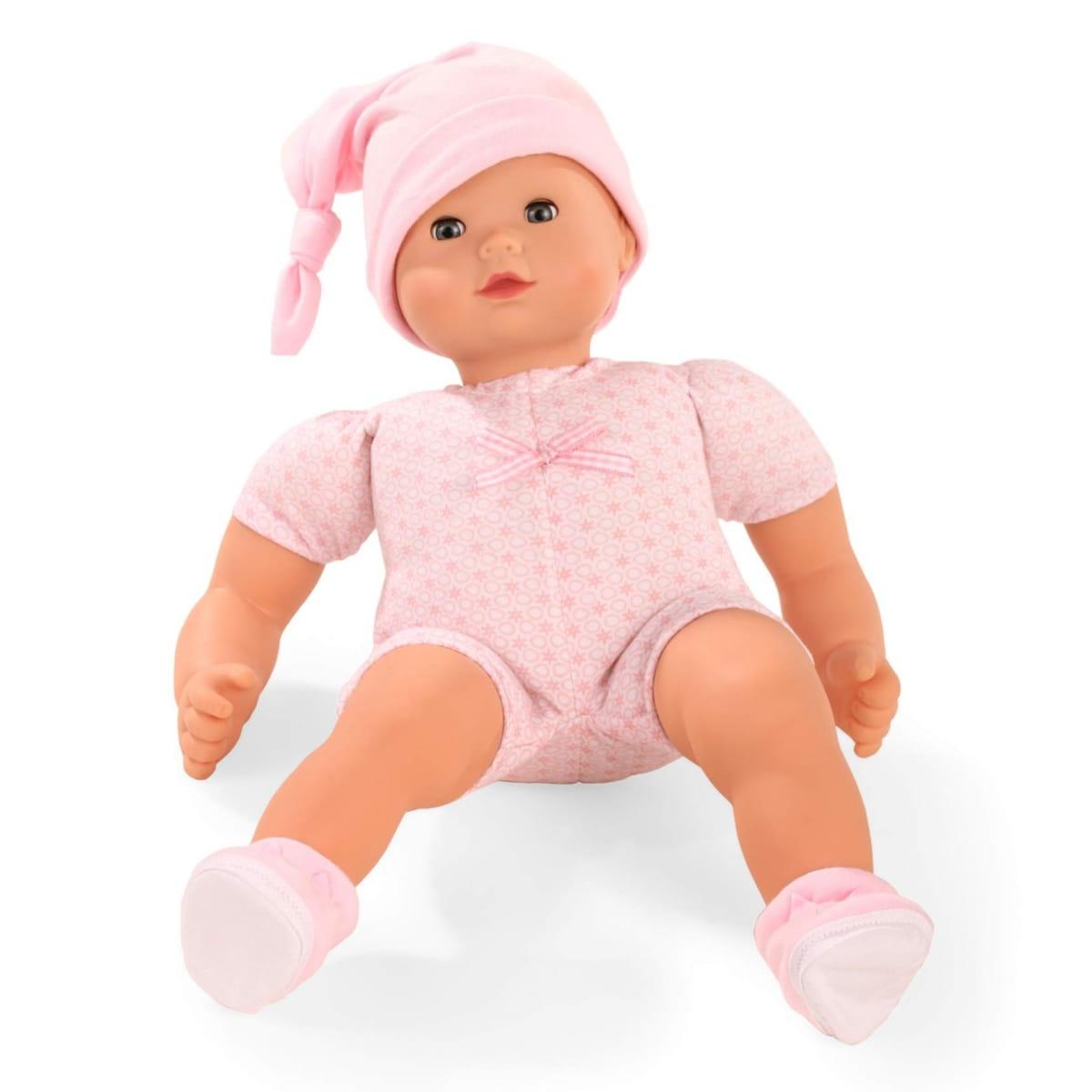Кукла - пупс GOTZ Маффин - 42 см (в светлом боди с шортиками и шапочке)