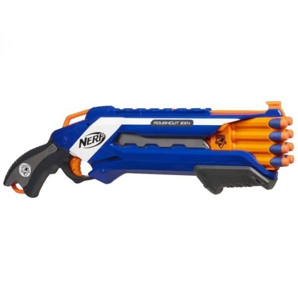 Купить Бластер Nerf Элит Рафкат Elite Rough cut (Hasbro) в интернет магазине игрушек и детских товаров