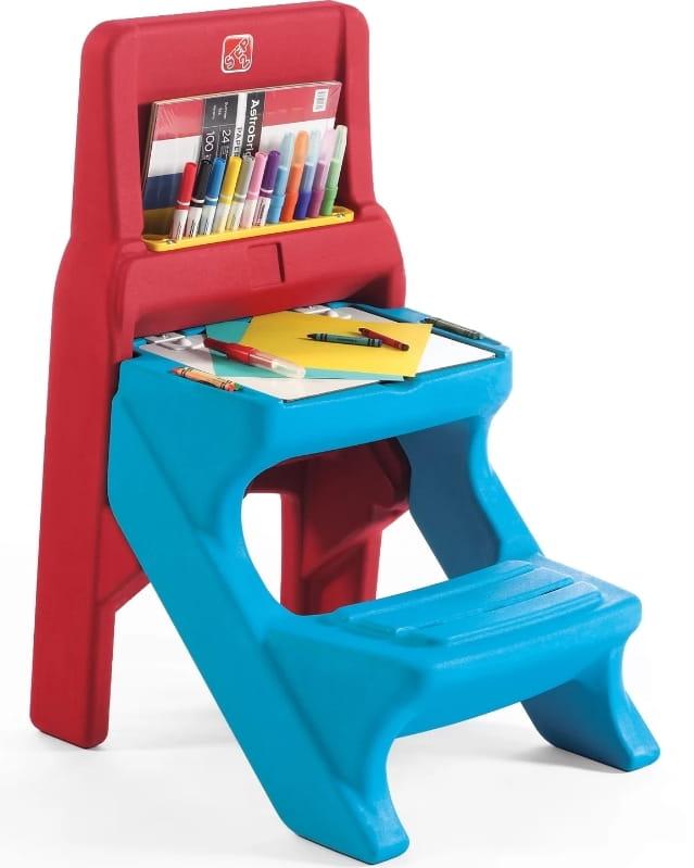 Парта с сидением и доской STEP2 Класс искусств - Детская мебель