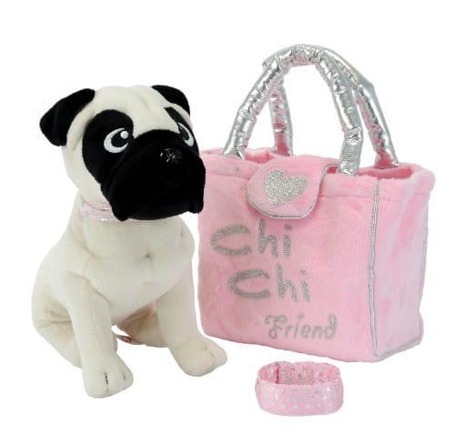 Купить Плюшевая собачка Chi Chi Love Мопс 20 см (Simba) в интернет магазине игрушек и детских товаров