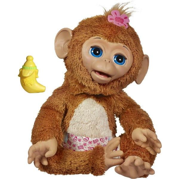 Купить Смешливая обезьянка FurReal Friends (Hasbro) в интернет магазине игрушек и детских товаров