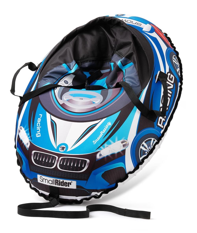 Надувные санки-тюбинг с сиденьем и ремнями SMALL RIDER Snow Cars 3 ВМ  синие - Ватрушки