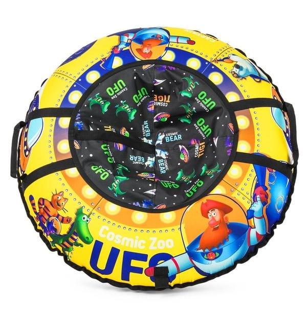 Надувные санки-ватрушка SMALL RIDER Ufo  желтые (капитан Клюква) - Ватрушки
