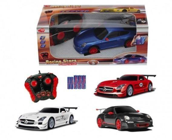Купить Радиоуправляемая машина Dickie Гоночное авто 29 см 1:24 (синий) в интернет магазине игрушек и детских товаров