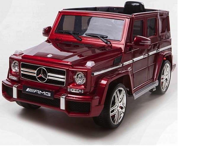 Электромобиль HARLEYBELLA Gelandewagen Merсedes G63 - красный