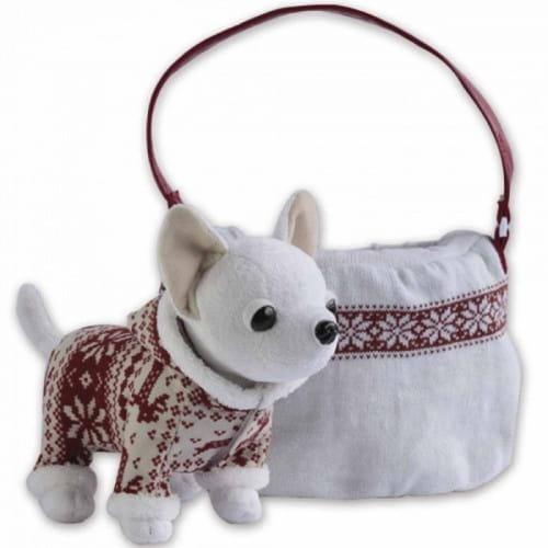 Купить Плюшевая собачка Chi Chi Love Зимний стиль 20 см (Simba) в интернет магазине игрушек и детских товаров