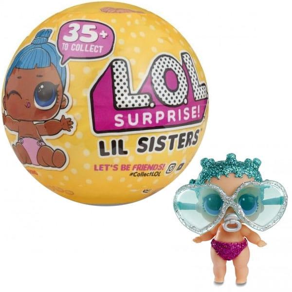 Кукла сюрприз в шарике Lol Конфетти Сестренки