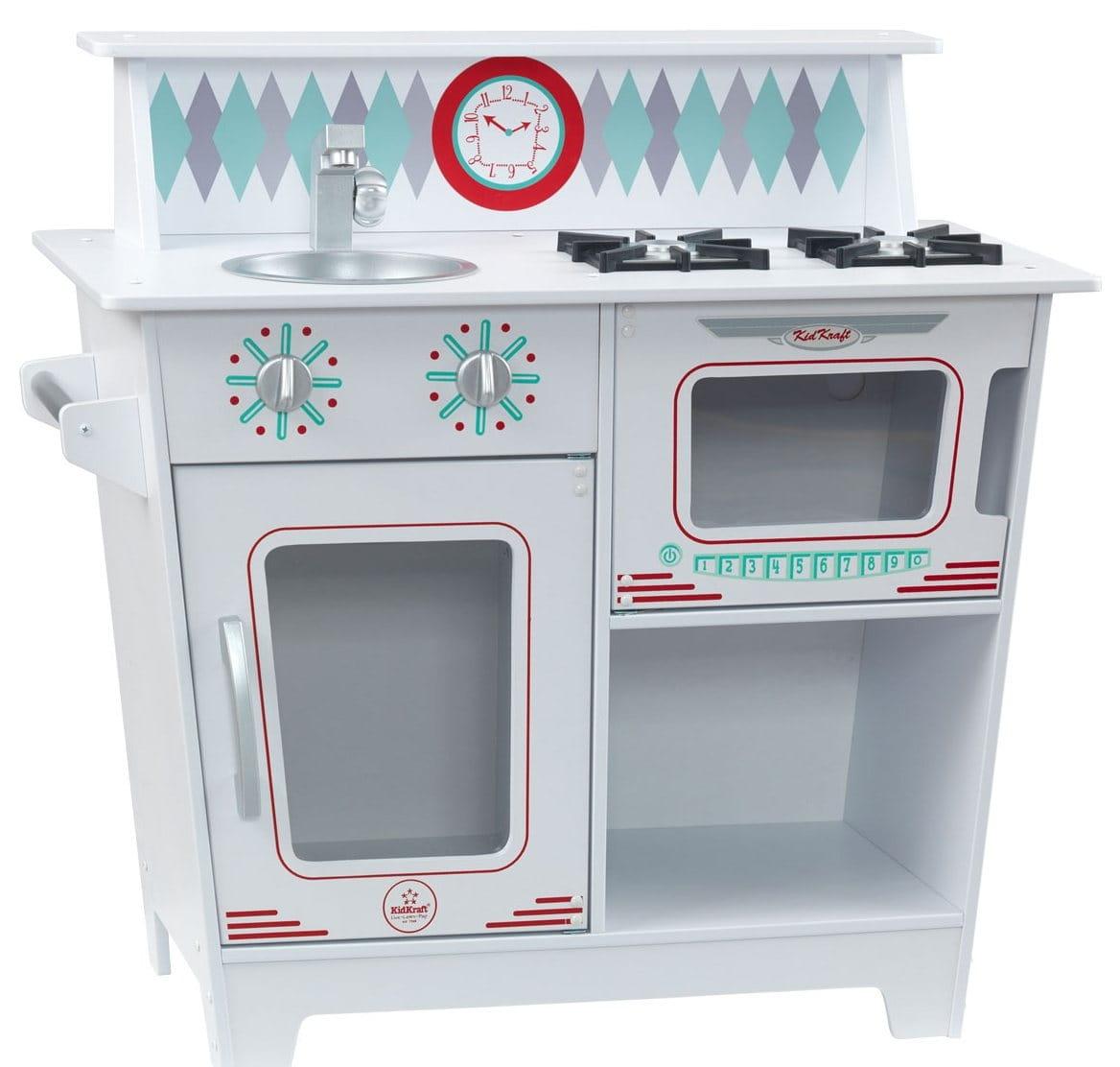 Детская кухня KIDKRAFT Классик (белая) - Детские кухни