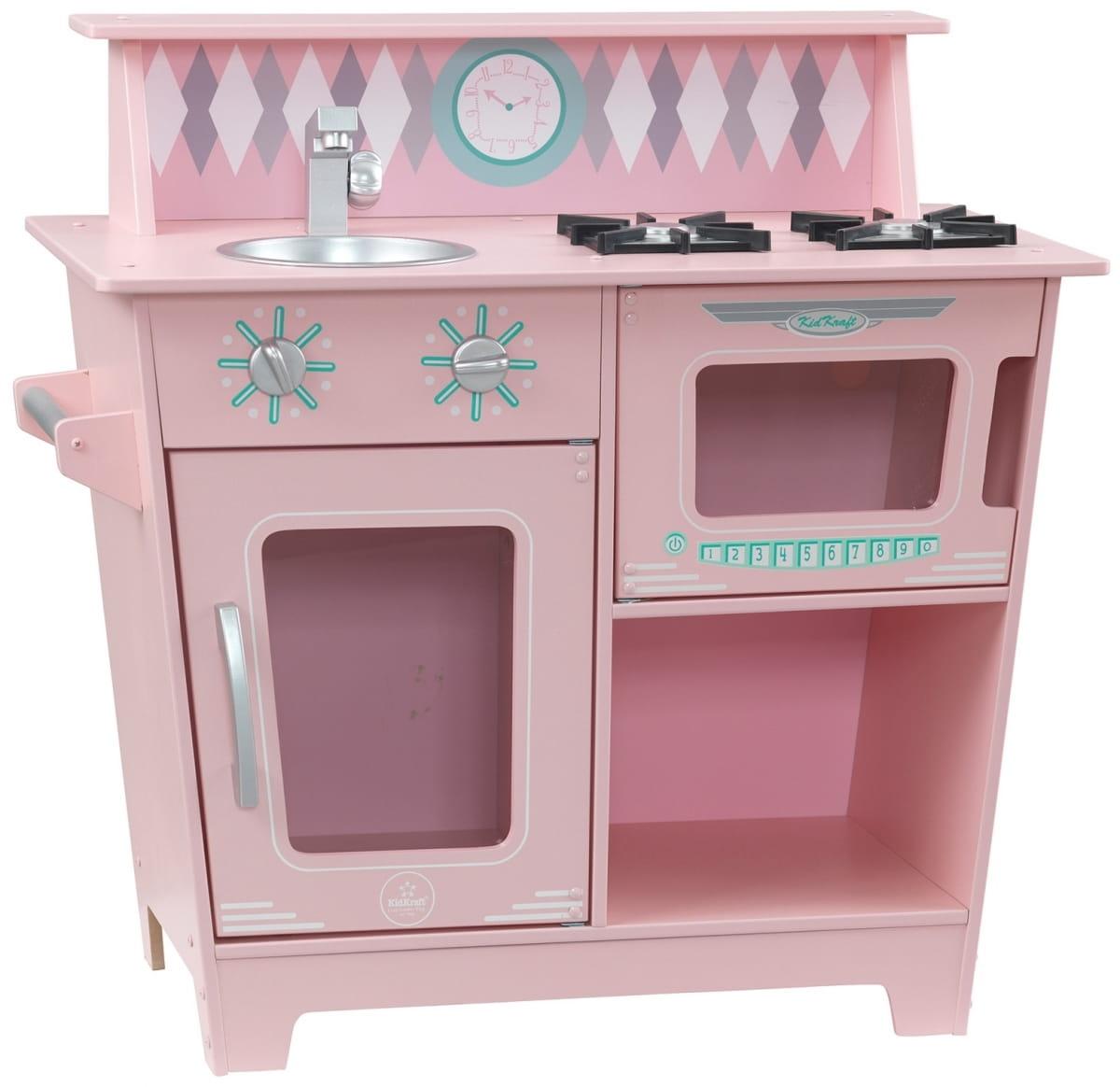 Детская кухня KIDKRAFT Классик (розовая) - Детские кухни