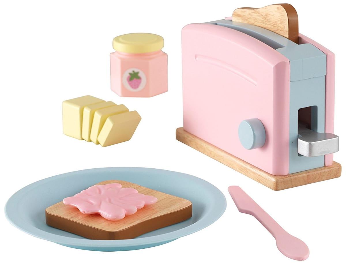 Игровой набор KIDKRAFT Пастель тостер - Все для юной хозяйки