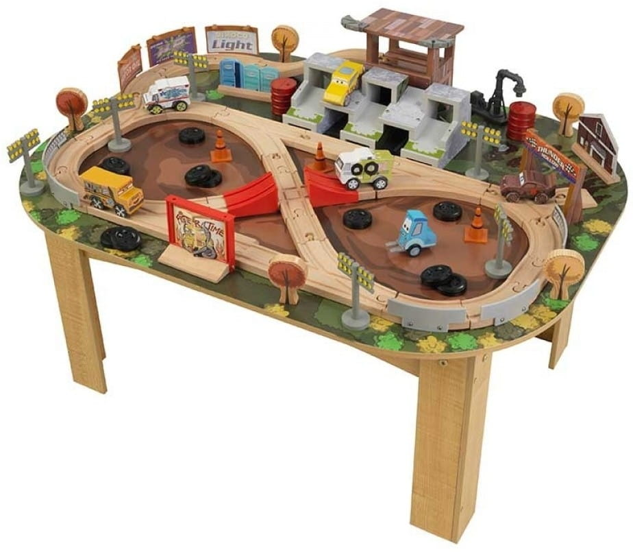 Игровой набор для мальчиков KIDKRAFT Гараж с трассой Тачки 3