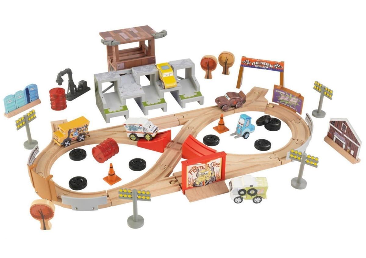 Игровой набор для мальчиков KIDKRAFT Трек Тачки 3 (без стола) - Парковки, автотреки и гаражи
