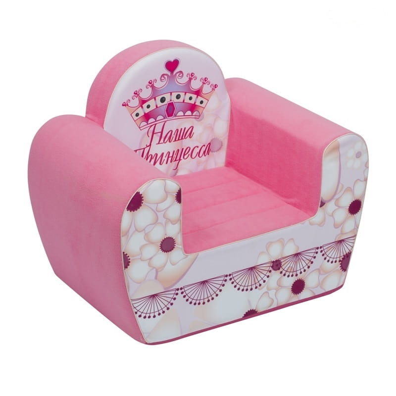 Детское кресло PAREMO Инста-малыш - Наша принцесса