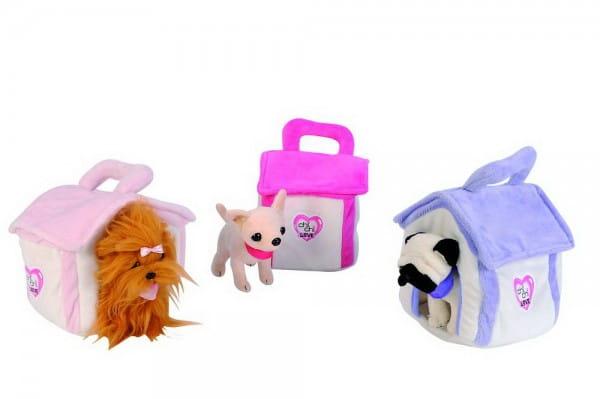 Купить Плюшевые домики Chi Chi Love для плюшевых собачек 14 см (Simba) в интернет магазине игрушек и детских товаров