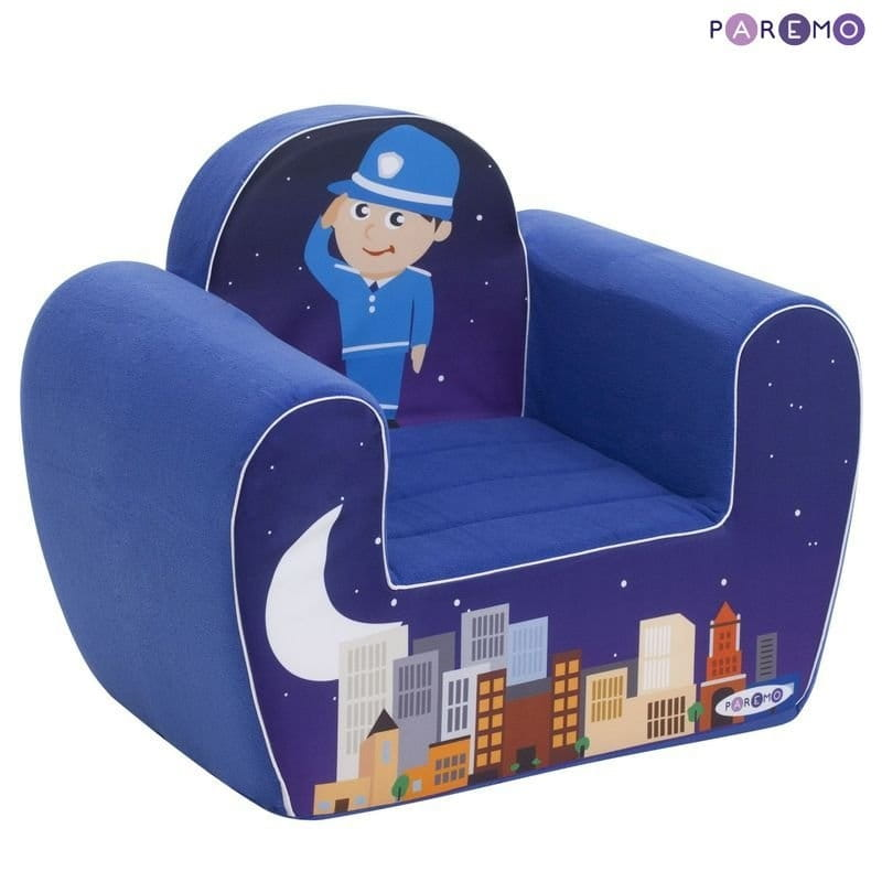 Детское кресло PAREMO Экшен - Полицейский