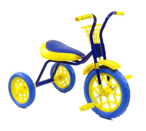 Детский трехколесный велосипед ЗУБРЕНОК  синий - Велосипеды