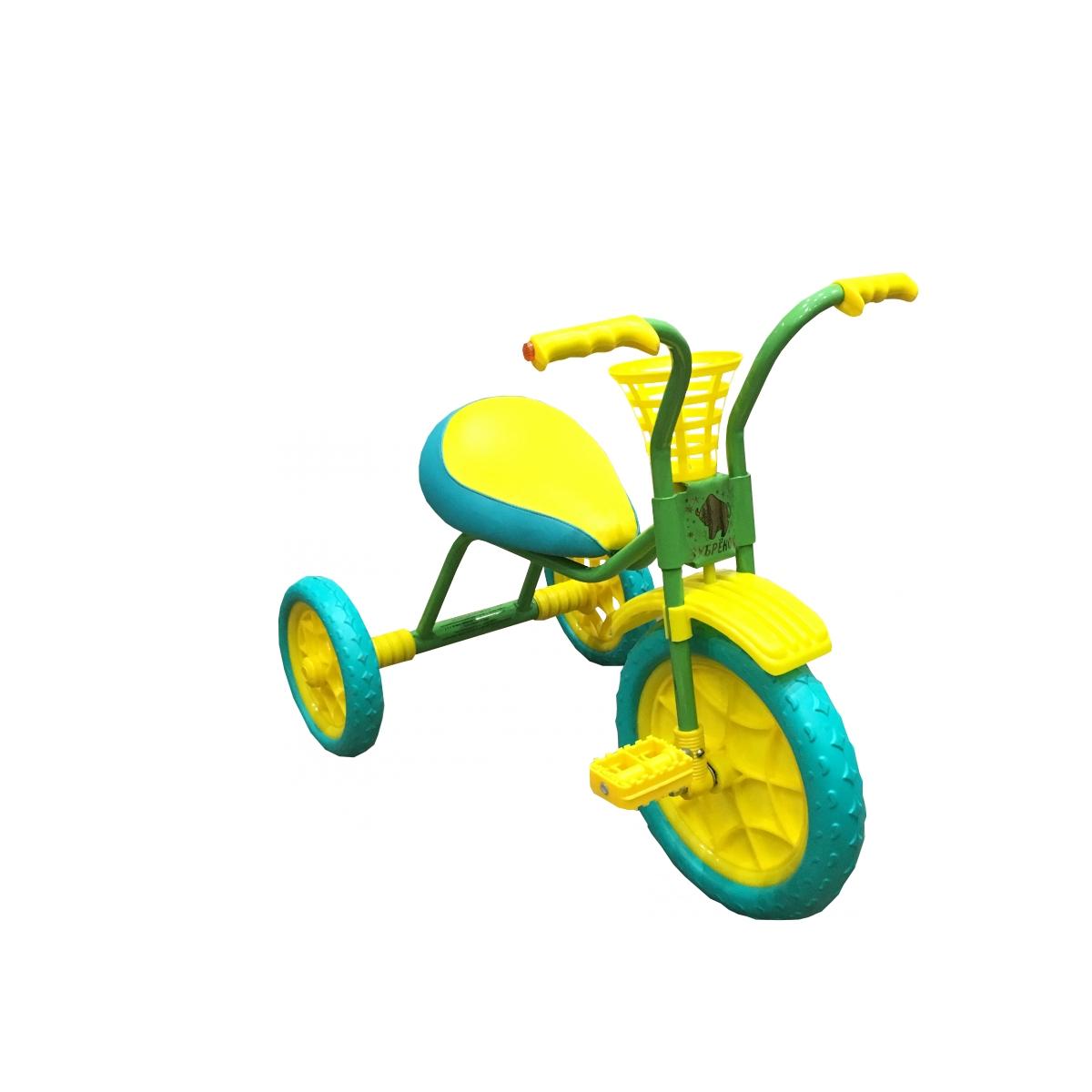 Детский трехколесный велосипед ЗУБРЕНОК  зеленый - Велосипеды