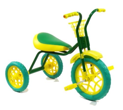 Детский трехколесный велосипед ЗУБРЕНОК  темно-зеленый - Велосипеды