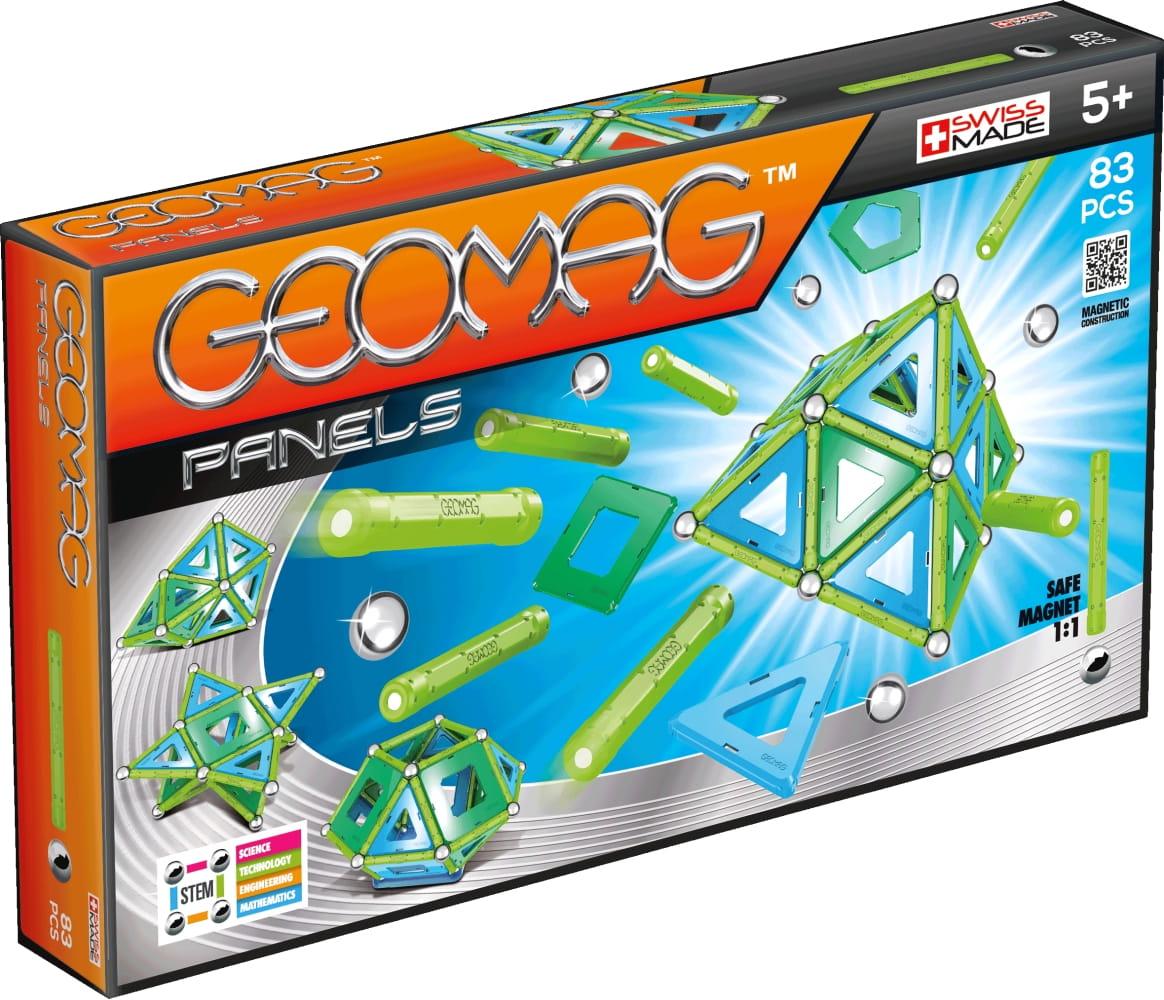 Магнитный конструктор GEOMAG Panels - 83 детали