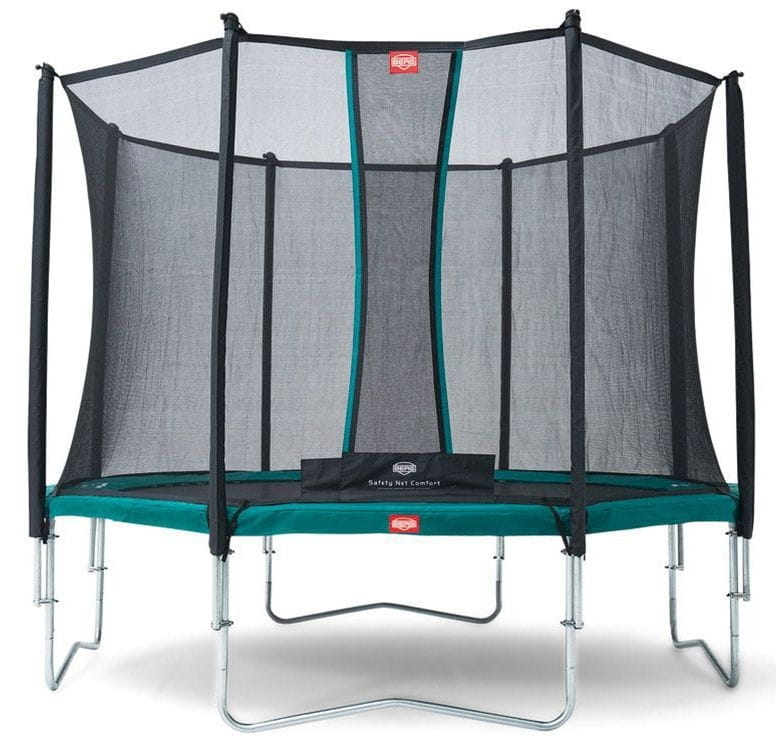 Батут BERG Favorit с защитной сеткой Safety Net Comfort - 380 см