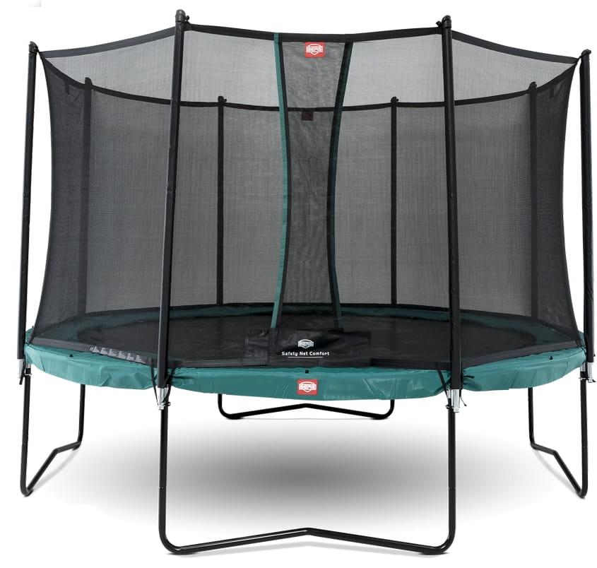 Батут BERG Champion с защитной сеткой Safety Net Comfort - 380 см