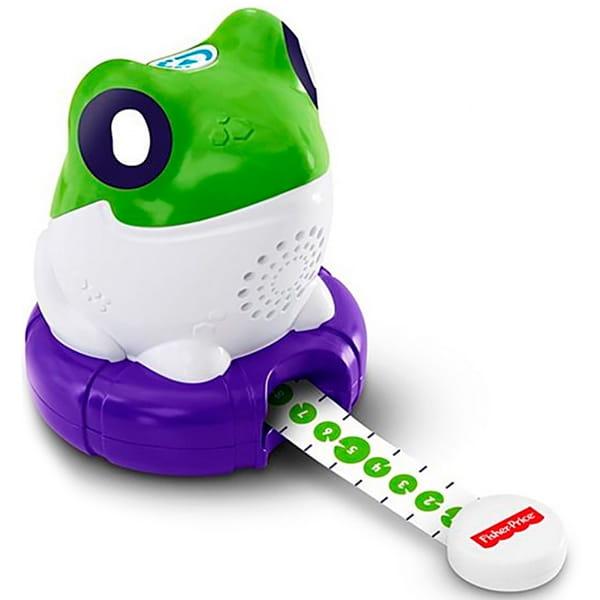 Игровой набор FISHER PRICE Лягушка Измеряем и сравниваем (Mattel) - Обучающие интерактивные игрушки