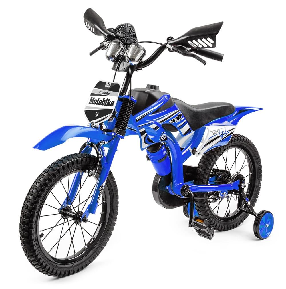 Детский велосипед-мотоцикл SMALL RIDER Motobike Sport - синий