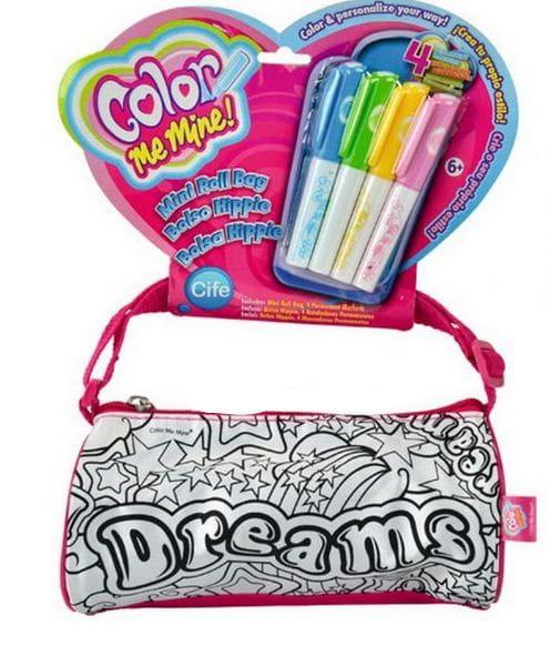 Купить Мини-сумочка Сolor me mine Dreams и 4 перманентных маркера (Simba) в интернет магазине игрушек и детских товаров