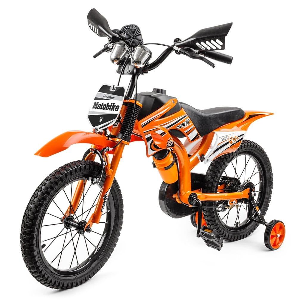 Детский велосипед-мотоцикл SMALL RIDER Motobike Sport - оранжевый