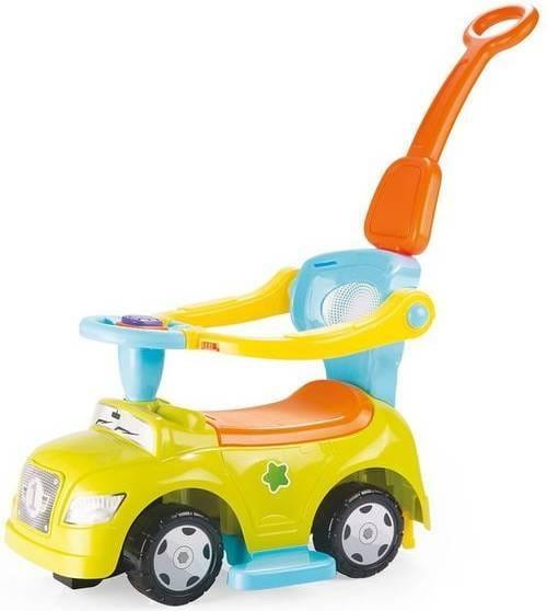 Автомобиль - каталка DOLU 3 в 1 - желтый