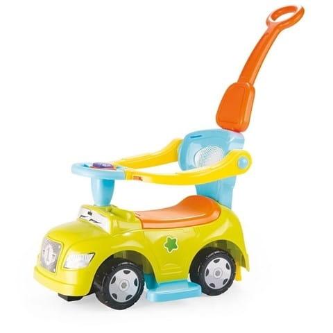 Автомобиль - каталка DOLU 4 в 1 - желтый
